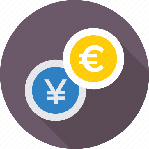 business, currency, foreign exchange, money exchange, trade icon
