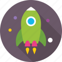 business launch, business startup, missile, new business, rocket icon