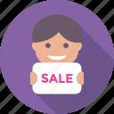 commerce, e commerce, offer, sale, shopping icon