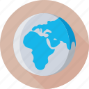 global network, globe, planet, world map, worldwide icon