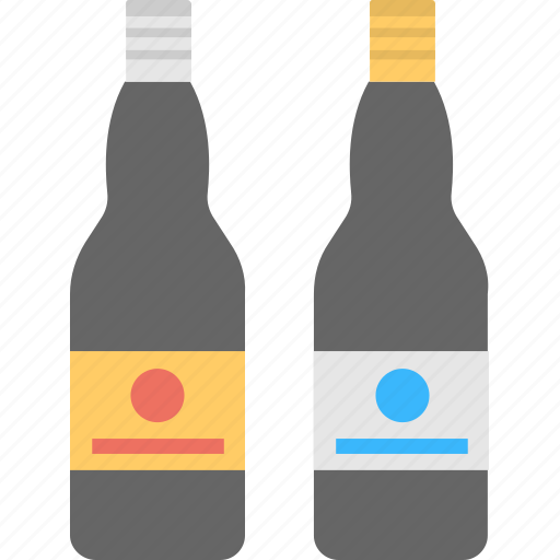 alcohol, alcohol bottles, alcoholic drinks, beer bottles, liquor store icon