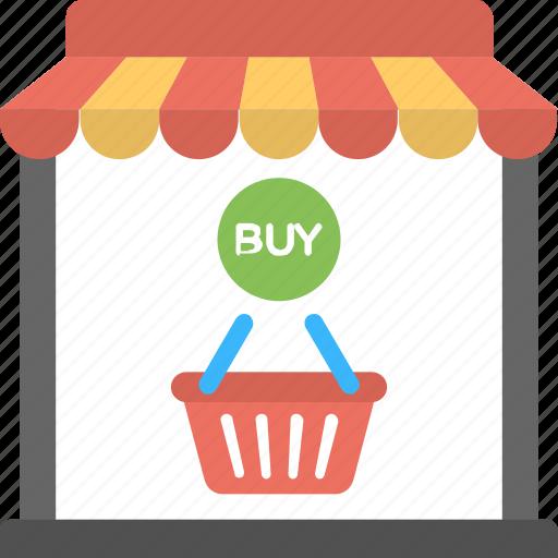 laptop store, online store website, online store. online shop icon