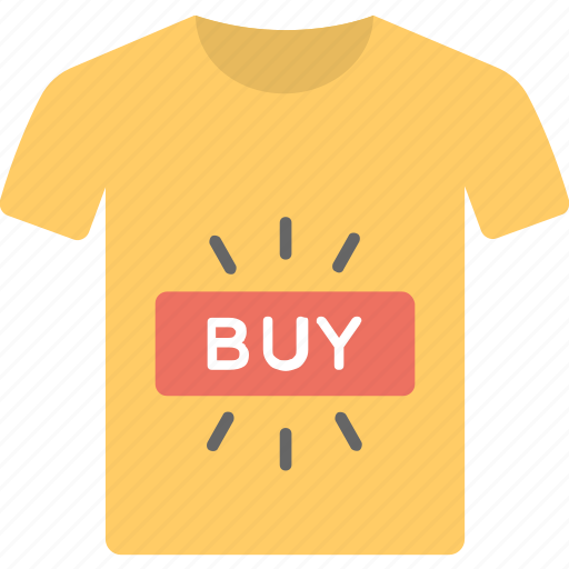 apparel, buy online, garment, outfit, shirt, t-shirt icon