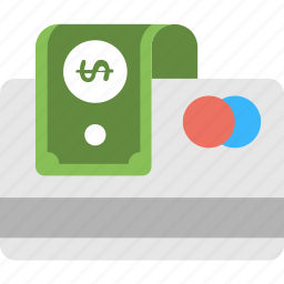banking, credit card cash, credit card payment, finance, payment icon