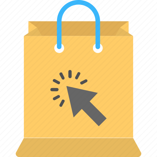 buy online, click shop, internet shopping, online shop, package click icon