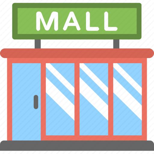mall, mart, shopping center, shopping mall, shopping plaza icon