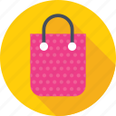 bag, shopper, shopping, shopping bag, tote bag icon