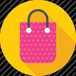 bag, shopper, shopping, shopping bag, tote bag icon