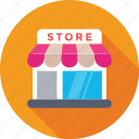 market, retail, shop, shopping, store icon