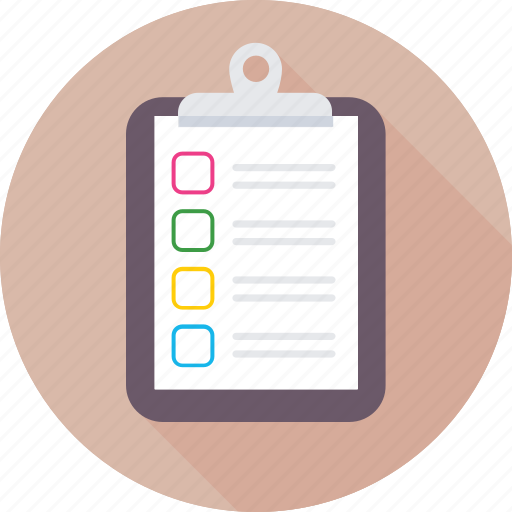 appointment, checklist, list, paper, shopping list icon
