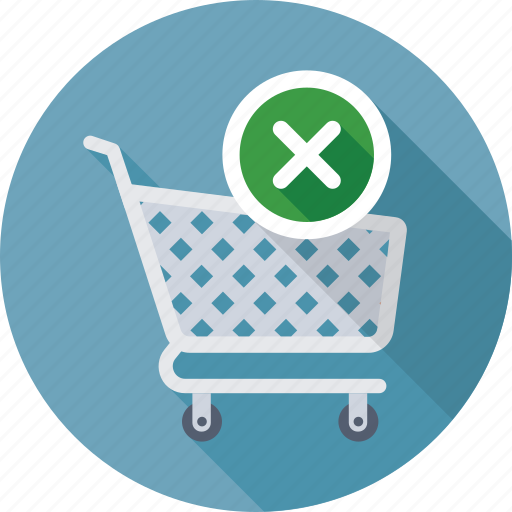 cart, ecommerce, online shopping, remove from cart, shopping icon