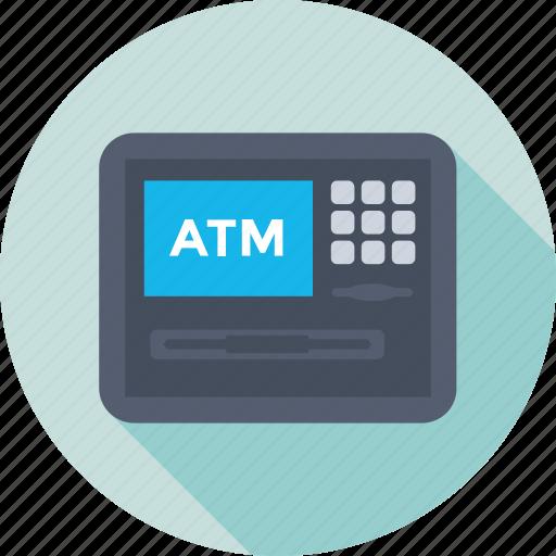 atm, atm machine, atm withdrawal, automated teller machine, cash machine icon