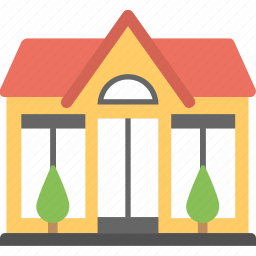 building, home, house, house exterior, house front icon