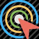 click, computer mouse click, cursor, cursor click, mouse cursor sign icon