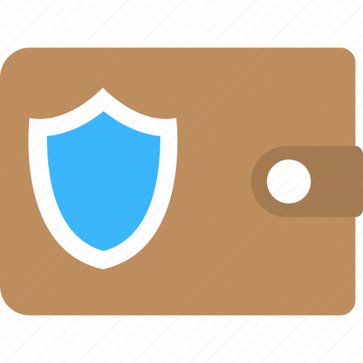 payment security concept, secure payment, wallet protection, wallet safety, wallet shield icon