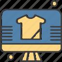 display, lcd, led, shirt