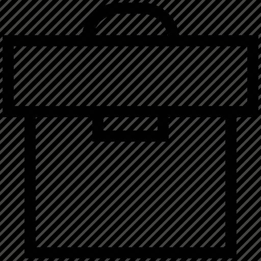 attache case, bag, documents bag, laptop bag, luggage, portfolio case icon