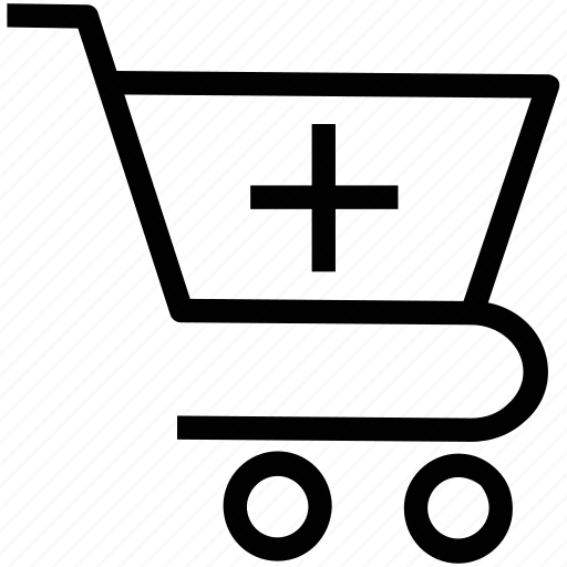add items, add product, add to cart, go shopping, online shopping, shopping cart icon