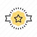 award, badge, best, medal, offer icon