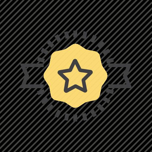 award, badge, best, medal, offer icon