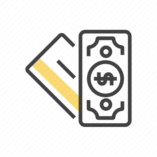 card, cash, credit, option, payment icon