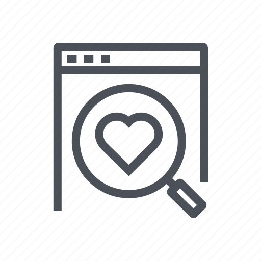 bookmark, favorite, find, magnifier, product icon