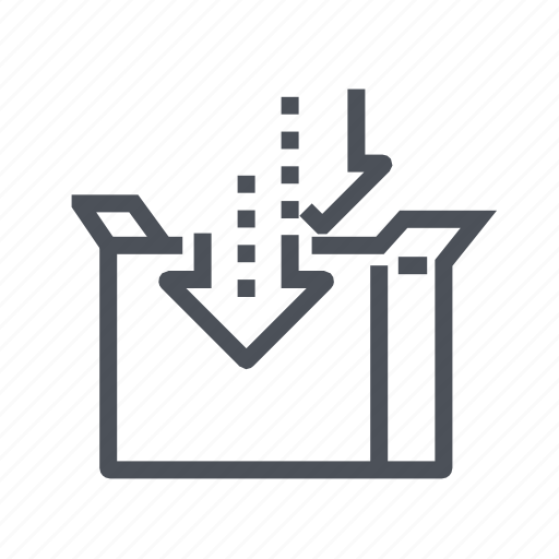 delivery, package, packaging, transport icon