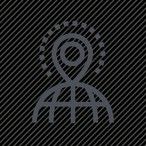direction, gps, location, navigation, shop icon