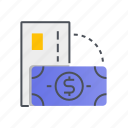 card, cash, method, money, payment icon