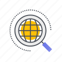 magnifier, magnifying, optimization, product, search icon