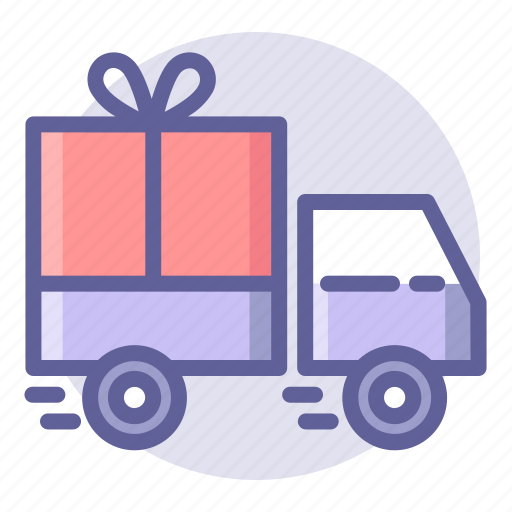 commerce, delivery, e, package, shipping, shopping, truck icon
