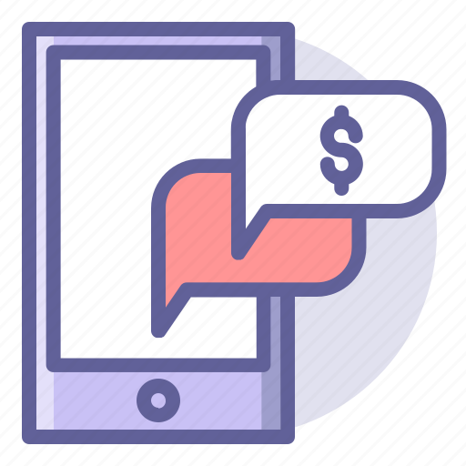 chat, commerce, e, online, phone, shopping icon