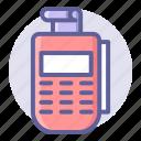 card, commerce, credit, e, edc, machine, shopping icon