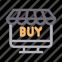buying, computer, ecommerce, online, screen