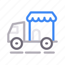 delivery, fast, lorry, shopping, truck icon
