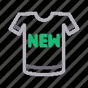 cloth, new, shirt, shopping, wear icon