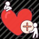 add favorite, add heart, add love, affection, love addition icon