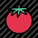 eat, food, fruit, persimmon, shopping