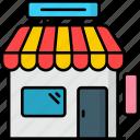 building, e commerce, market, retail, shop, store