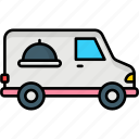 food delivery, delivery, food, restaurant, truck, commerce, fast food