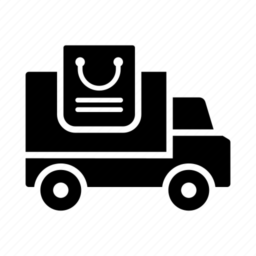 delivery, transport, travel, truck, vehicle icon