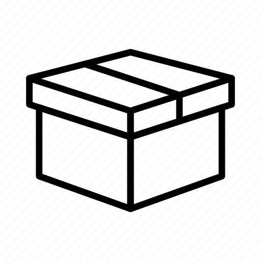 box, courier, delivery, package, parcel icon
