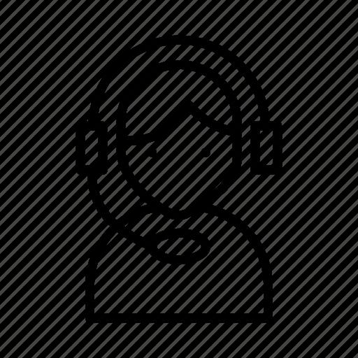 customer, employee, helpline, services, support icon