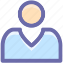 businessman, employee, people, profile, user icon