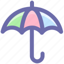 forecast, insurance, rain, safe, umbrella, weather icon