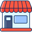 color, lineal, marketplace, online store, sale, shop, store icon