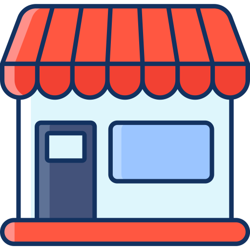 color, lineal, marketplace, online store, sale, shop, store icon