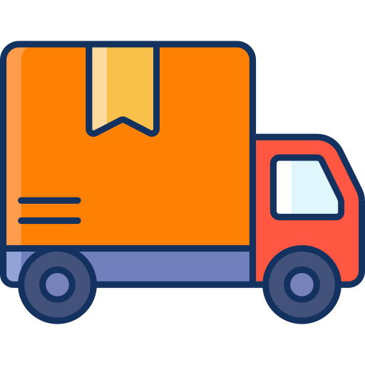 color, delivery, lineal, sale, shipping, truck icon