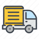 van, vehicle, delivery, shipping, transportation