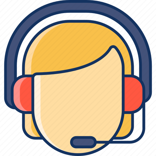 call, color, customer care, customer support, lineal, online, sale icon